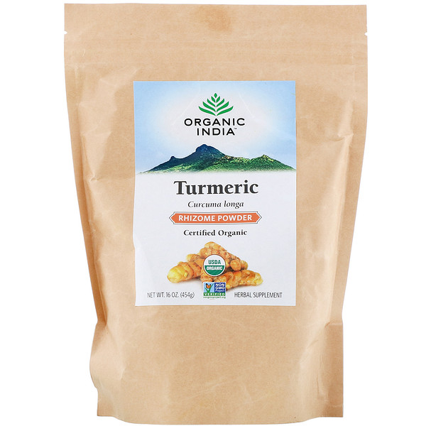 Turmeric Rhizome Powder,16 oz (454 g)