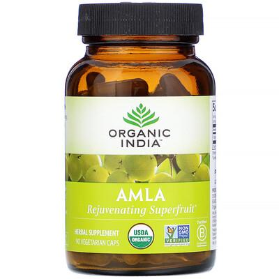 Купить Organic India Amla, 90 Vegetarian Caps