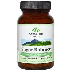 Органик Индиа, Sugar Balance, 90 Veggie Caps отзывы