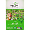 Organic India, Tulsi Tea, Green, 18 Infusion Bags, 1.21 oz (34.2 g)