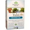 Organic India, Tulsi, Holy Basil,  Breakfast Tea, 18 Infusion Bags, 1.08 oz (30.6 g)