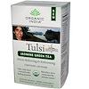 Organic India, Tulsi Holy Basil Tea, Jasmine Green Tea, 18 Infusion Bags, 1.14 oz (32.4 g) (Discontinued Item)