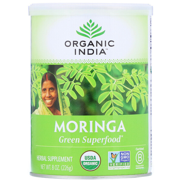 Organic India, Moringa, 8 oz (226 g)