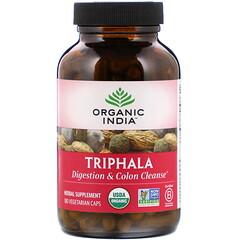 Organic India, 三果寶,180 粒素食膠囊