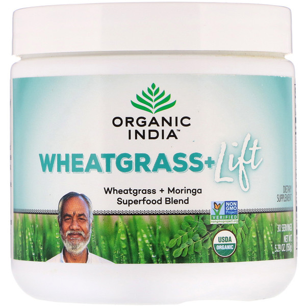Wheatgrass+ Lift, Superfood Blend, 5.29 oz (150 g)