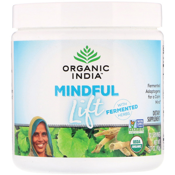 Mindful Lift, Fermented Adaptogens, 3.17 oz (90 g)