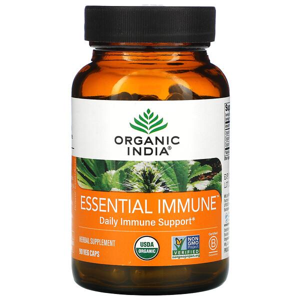 Essential Immune, Daily Immune Support, 90 Veg Caps