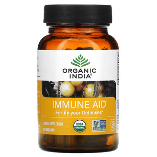 Organic India, Immune Aid, Fortify Your Defenses, 90 Veg Caps