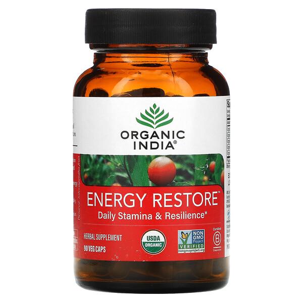 Energy Restore, Daily Stamina & Resilience, 90 Veg Caps