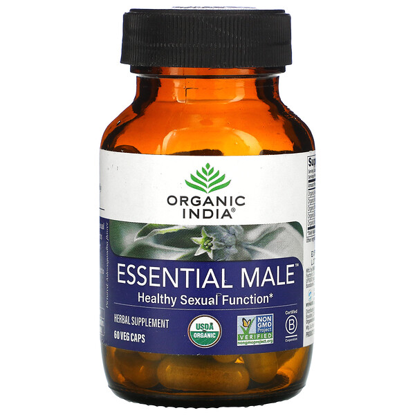 Essential Male, Healthy Sexual Function, 60 Veg Caps