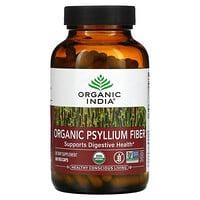 Organic India, Organic Psyllium Fiber, 180 Veg Caps