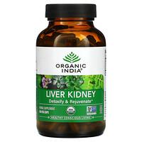 Organic India, Liver Kidney, 180 Veg Caps