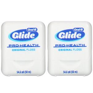 Oral-B, Glide, Pro-Health, Original Floss, 2 Ct., 54.6 yd (50 m) Each отзывы покупателей