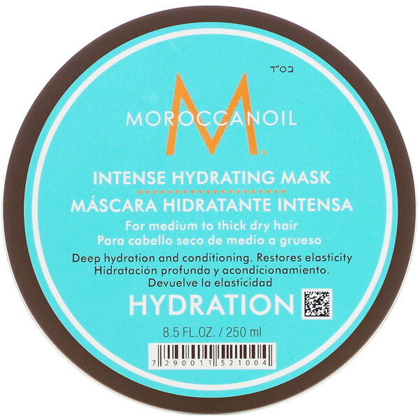 Moroccanoil, Intense Hydrating Mask, 8.5 fl oz (250 ml) (Discontinued Item)