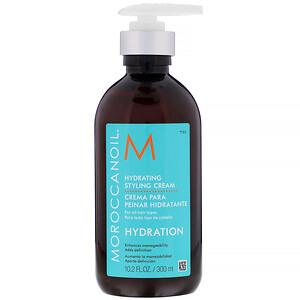 Moroccanoil, Hydrating Styling Cream, Hydration, 10.2 fl oz (300 ml) отзывы