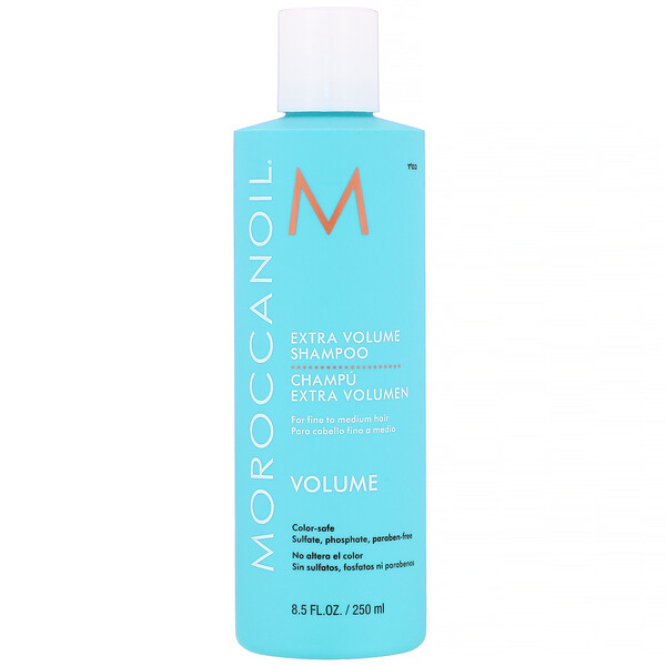Moroccanoil, Extra Volume Shampoo, 8.5 fl oz (250 ml) (Discontinued Item)