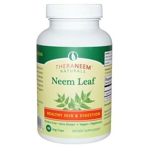 Органикс Саут, TheraNeem Naturals, Neem Leaf, 90 Veggie Caps отзывы