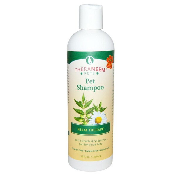 TheraNeem Pets, Neem Therapé, Pet Shampoo, 12 fl oz (360 ml)