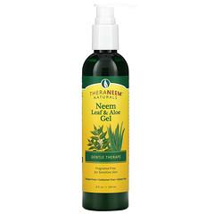 Organix South, TheraNeem Naturals,印楝葉和蘆薈凝膠,溫和護理牙齦粉,無香,8 液量盎司(240 毫升)