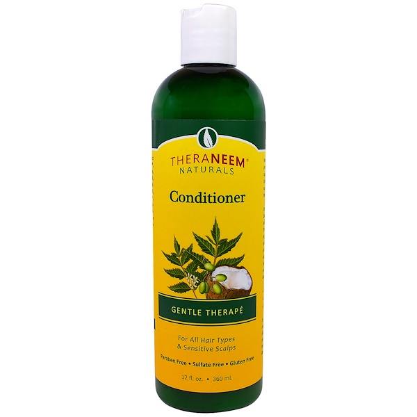 Organix South, TheraNeem Organix, acondicionador, Gentle Therapé, 12 fl oz (360 ml)