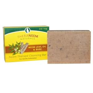 Органикс Саут, TheraNeem Naturals, Neem Therape Cleansing Bar, Neem Leaf, Oil & Bark, 4 oz (113 g) отзывы