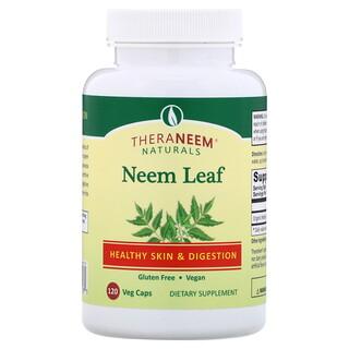 Organix South, TheraNeem Naturals، أوراق النيم الشائع، لصحة البشرة والهضم، 120 كبسولة نباتية