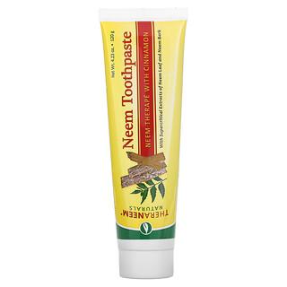 Organix South, TheraNeem Naturals, Neem Toothpaste, Neem Therape with Cinnamon, 4.23 oz (120 g)