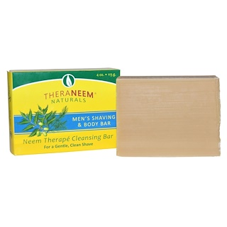 Organix South, TheraNeem Naturals, Neem Therapé, Men's Shaving & Body Bar, 4 oz (113 g)