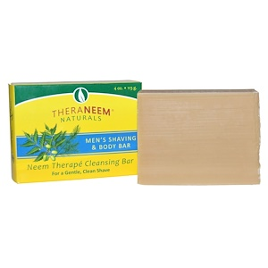 Органикс Саут, TheraNeem Naturals, Neem Therape, Men's Shaving & Body Bar, 4 oz (113 g) отзывы