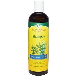 Organix South, TheraNeem Naturals, Volumizing Therapé, Shampoo, 12 fl oz (360 ml)