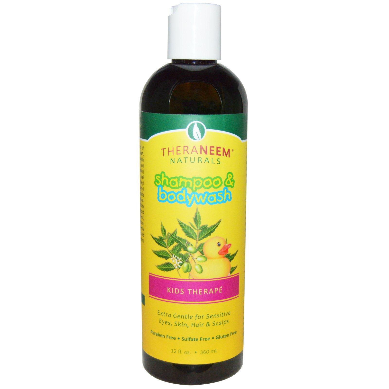 Organix South, TheraNeem, Shampoo & Bodywash, Kids Therapé, Neem & Chamomile, 12 fl oz (360 ml)