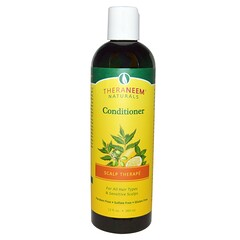 Organix South, 有機護髮素,養護頭皮,楝樹提取,檸檬薄荷香型,12液體盎司(360毫升)