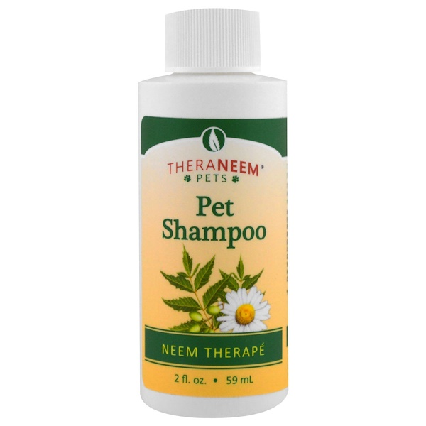 Organix South, TheraNeem Pets, Neem Therapé, Pet Shampoo, 2 fl oz (59 ml)