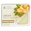 Organix South, Naked Organix, Nourishing Therapé, Argan Cleansing Bar, Fragrance Free, 4 oz (113 g)