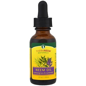 Органикс Саут, TheraNeem Naturals, Neem Oil, Lemongrass & Lavender, 1 fl oz (30 ml) отзывы