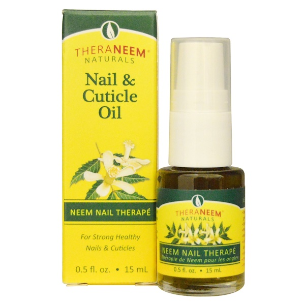 Organix South, TheraNeem Organix, Nail & Cuticle Oil, 0.5 fl oz (15 ml) (Discontinued Item)