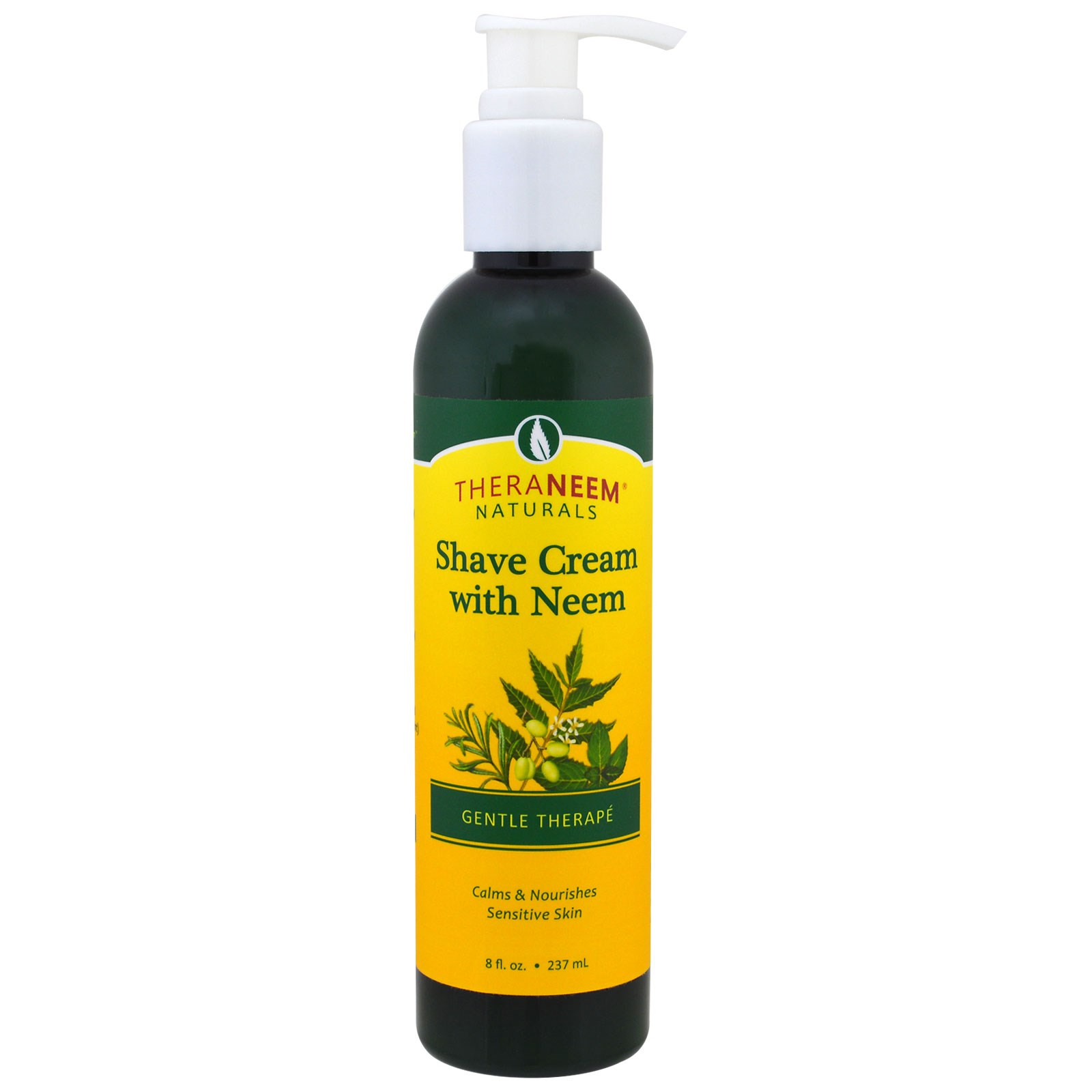 Organix South, TheraNeem Naturals, крем для бриться с маслом дерева ним, мягкий уход, 237 мл (8 жидких унций)