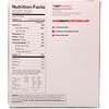 OOH Snap!, Barra de proteína crujiente, mantequilla de maní con chocolate, 7 barras de proteína, 1,62 oz (46 g) cada una
