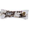 OOH Snap!, Barrita de proteína crujiente, Trozo doble de chocolate, 7barritas, 46g (1,62oz) cada una
