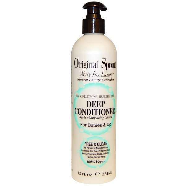 Original Sprout Inc, Deep Conditioner, For Babies & Up, 12 fl oz (354 ml)
