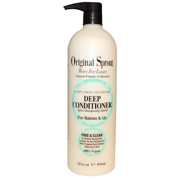 Original Sprout Inc, Deep Conditioner, For Babies & Up, 33 fl oz (975 ml)