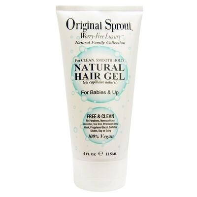 Купить Натуральный гель для волос, для младенцев и старше, 4 жидких унции (118 мл)