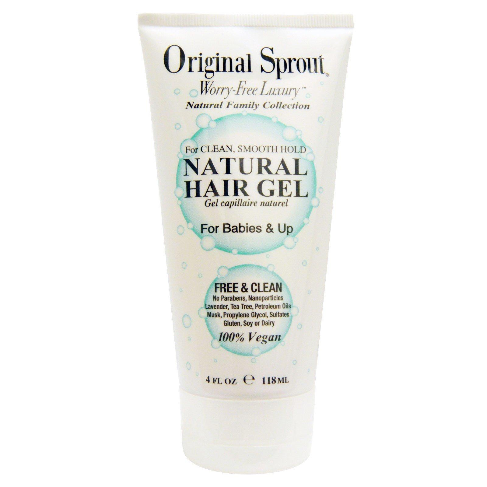 Original Sprout Inc, Натуральный гель для волос, для младенцев и старше, 4 жидких унции (118 мл)