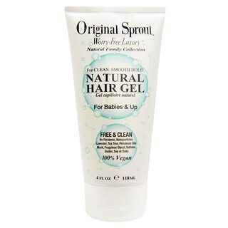 Original Sprout Inc, Gel natural para cabello, para bebés y niños, 4 fl oz (118 ml)