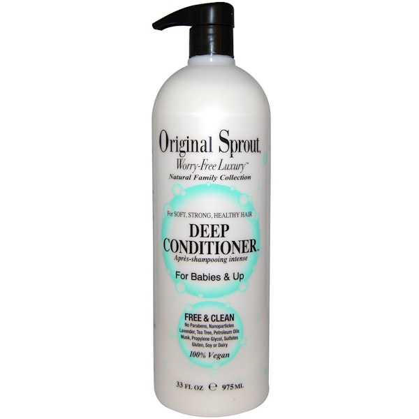 Original Sprout, Deep Conditioner, For Babies and Up, 33 fl oz (975 ml) (Discontinued Item)