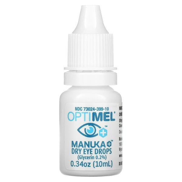 Manuka+ Dry Eye Drops, 0.34 oz (10 ml)