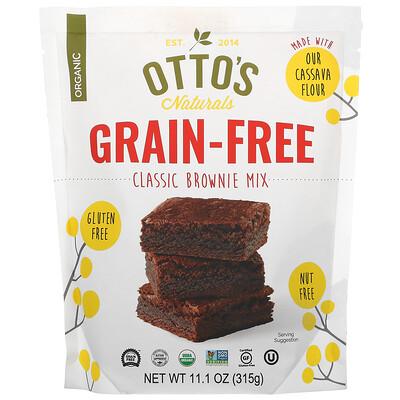 Otto's Naturals Grain Free, Classic Brownie Mix, 11.1 oz (315 g)