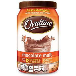 Овалтайн, Chocolate Malt Mix, 12 oz (340 g) отзывы покупателей
