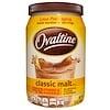 Ovaltine, خليط الشعير الكلاسيكي، خالي من الكافيين، 12 أوقية (340 غرام)