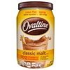 Ovaltine, 클래식 맥아 믹스, 무카페인, 12 온스 (340 g)